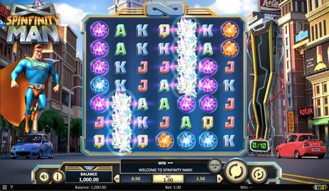 Online Casino «Spinfinity Man Slot»