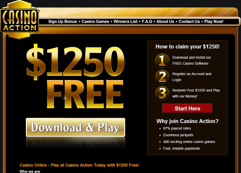 Casino action 1250 gratis forum