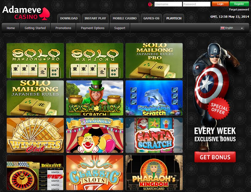 adam eve casino