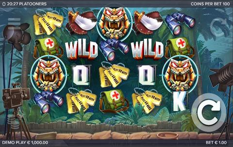 Online Casino «Platooners slot review»