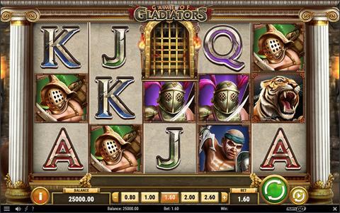 Online Casino «Game of Gladiators Slot»