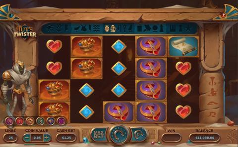 Online Casino «Tut's Twister slot »